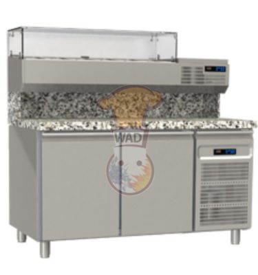 Pizza refrigerated counter