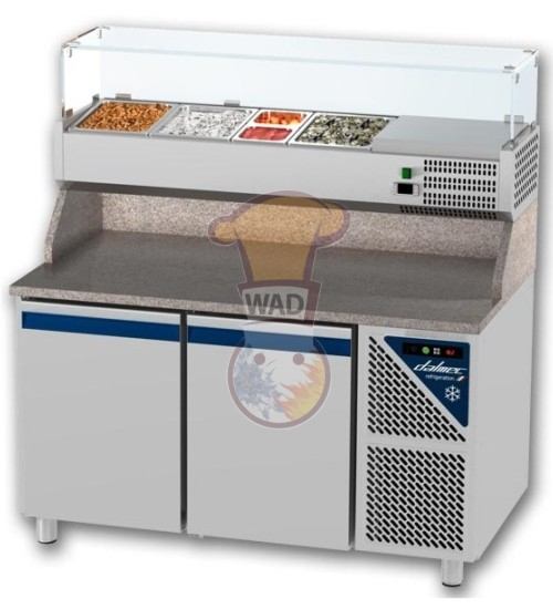 Work top pizza refrigerator