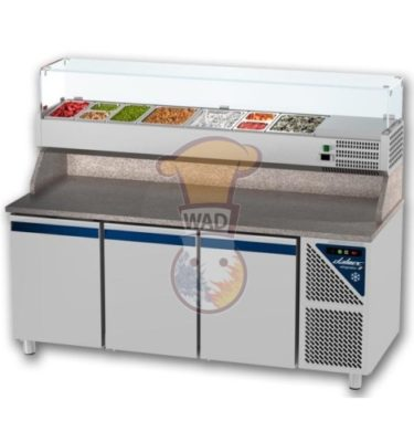 PCP70314 Work top pizza refrigerator (460 Ltr.)