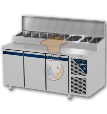 Work top snack refrigerator