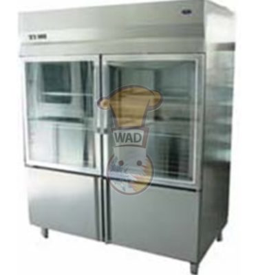 Glass Door Upright refrigerator