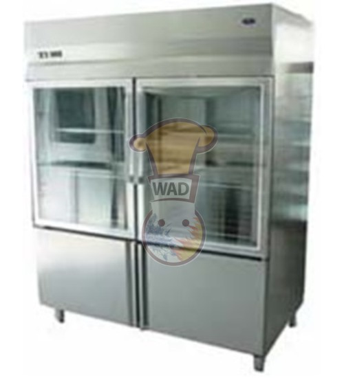 Glass Door Upright refrigerator