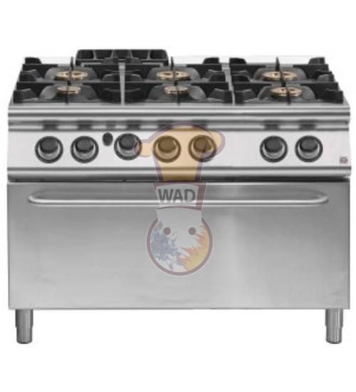 EM 90/120 CFGG - Modular Professional Gas Cooker