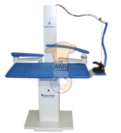 Rectangular ironing table