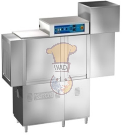 Rack conveyor dish washer + Dryer