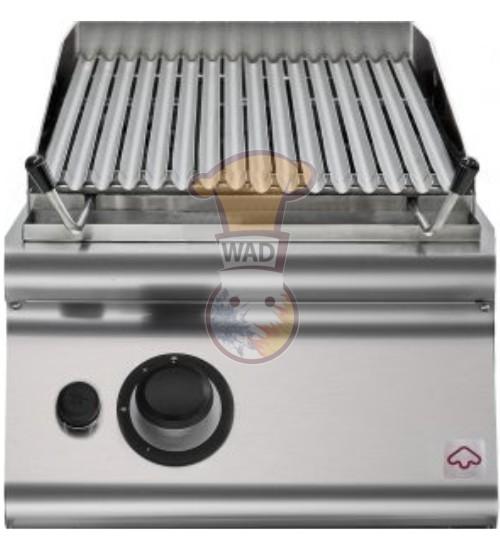 Gas lava stone grill