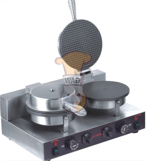 Double Head Stainless Steel Cone Baker